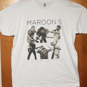 Maroon 5 shirt XL 2015 live concert exclusive